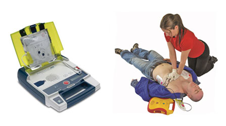 AED and O2 Training image